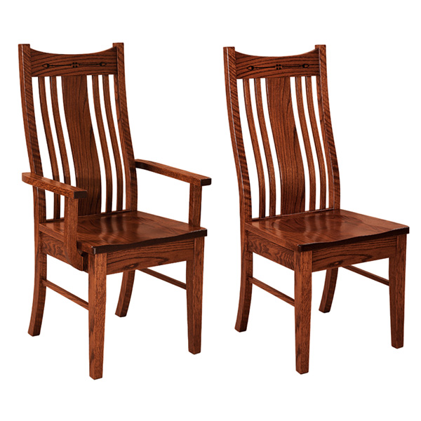 Amish Anthony Dining Chair | Amish Furniture | Shipshewana Furniture Co.