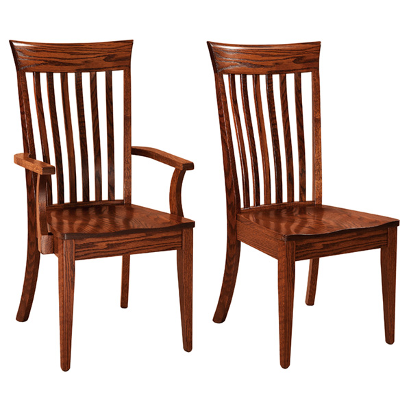 Amish Bonham Dining Chair | Amish Furniture | Shipshewana Furniture Co.