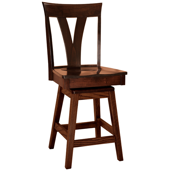 Langley Swivel Barstool
