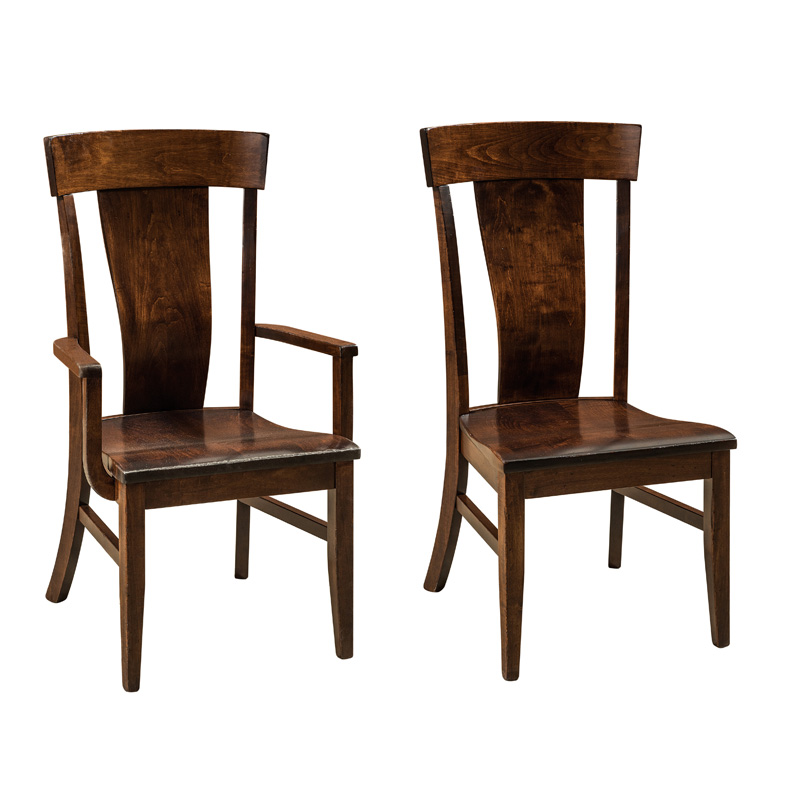 Amish Barrett Dining Chair | Amish Furniture | Shipshewana Furniture Co.