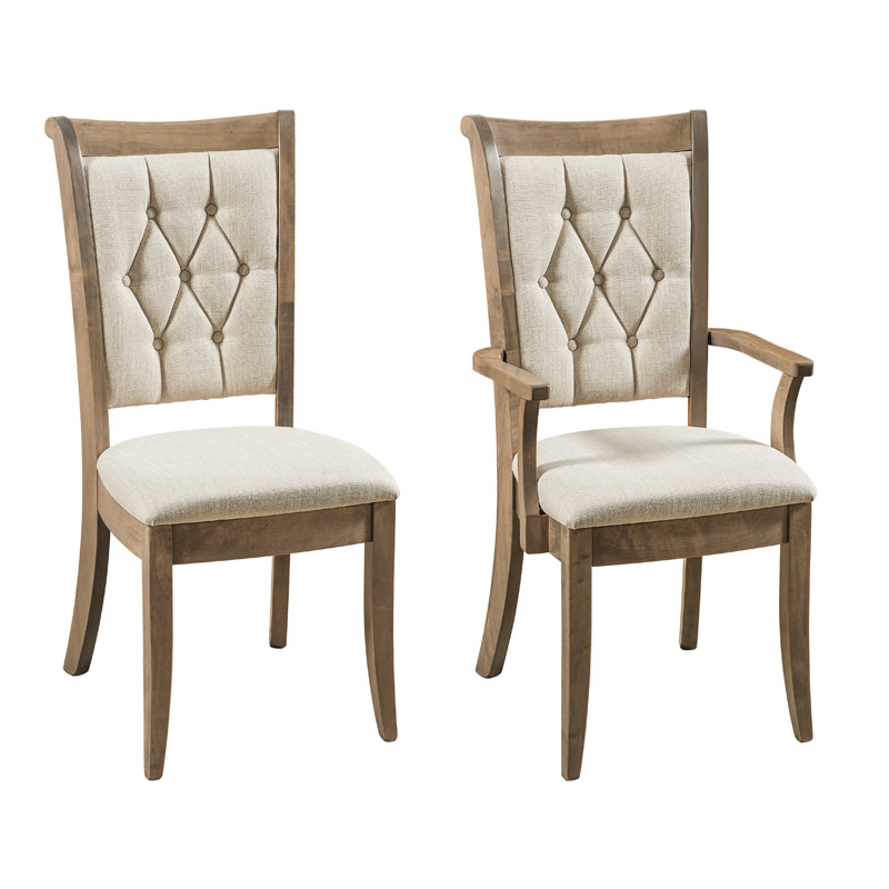 Amish Chatwood Dining Chair | Amish Furniture | Shipshewana Furniture Co.