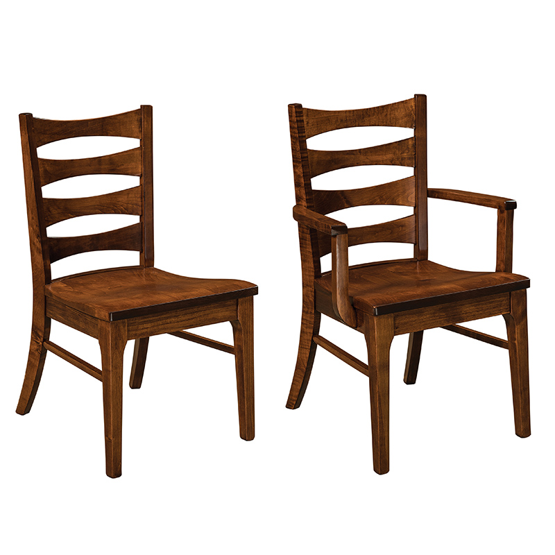 Amish Arthur Dining Chairs | Amish Furniture | Shipshewana Furniture Co.