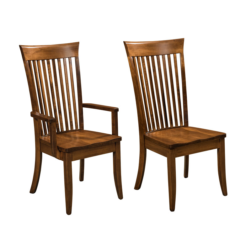 Amish Carmel Dining Chairs | Amish Furniture | Shipshewana Furniture Co.