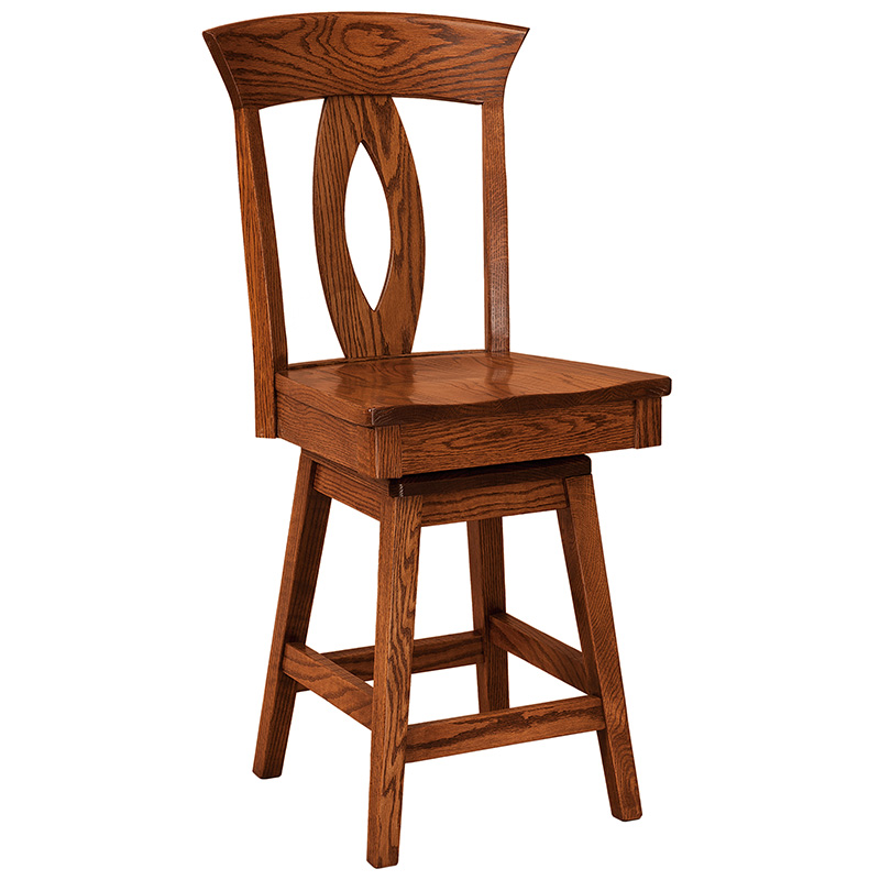Bethel Grove Swivel Bar Stool