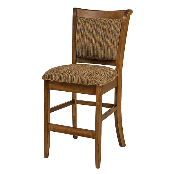Amish Ames Bar Chair | Amish Furniture | Shipshewana Furniture Co.