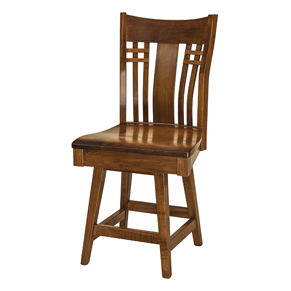 Burkett Swivel Barstool