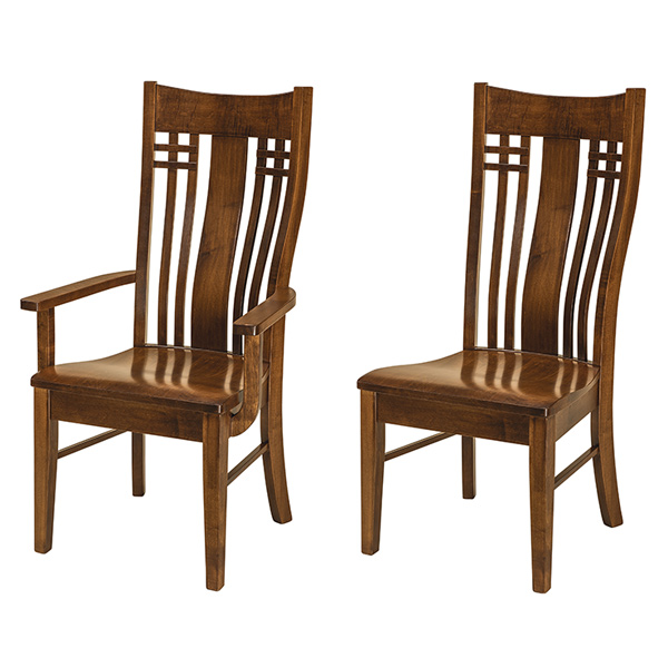 Amish Burkett Dining Chair | Amish Furniture | Shipshewana Furniture Co.