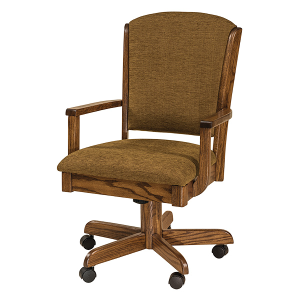 More Information, Amish Mayfield Desk Chair | Amish Furniture | Shipshewana  Furniture Co.