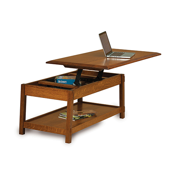 Amish Colbran Lift-Top Coffee Table | Amish Furniture | Shipshewana Furniture Co.