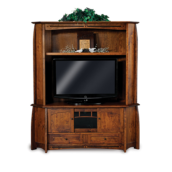 Boulder Creek Corner 2pc TV Cabinet