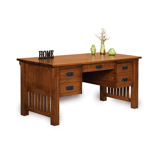 "Amish Bridger Mission 65"" Desk 