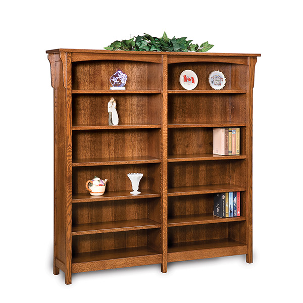 Bridger Mission Double Bookcase