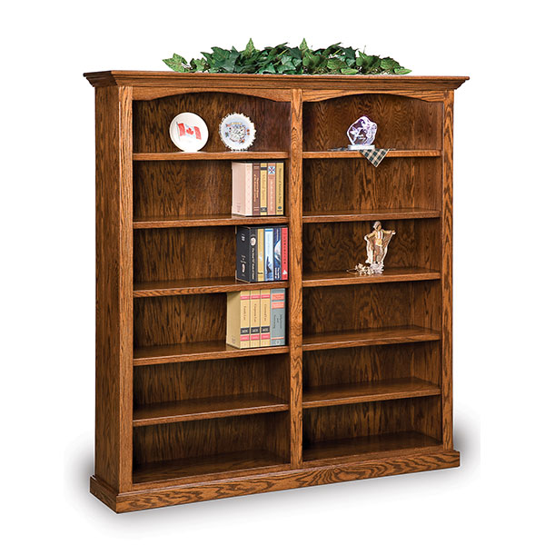 Hoosier Heritage Double Bookcase