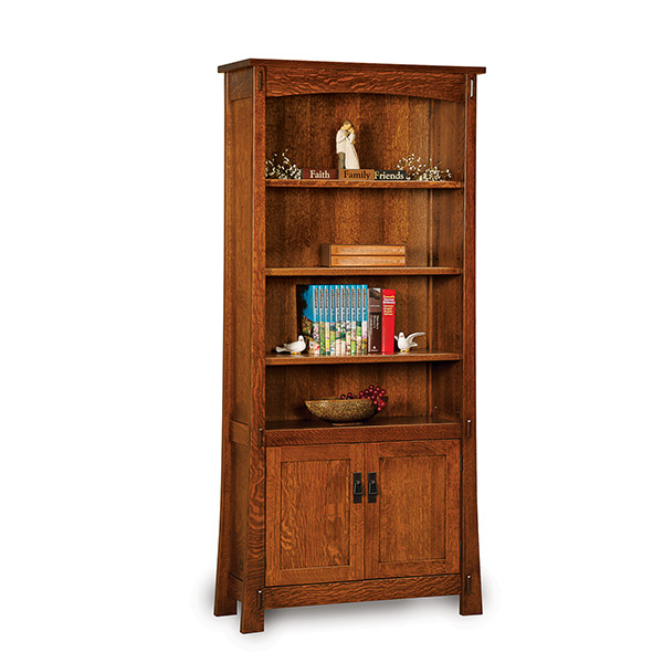 Modesto 2 Door Bookcase