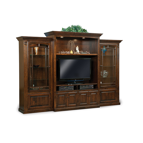 Amish Victorian 3pc Wall Unit | Amish Furniture | Shipshewana Furniture Co.