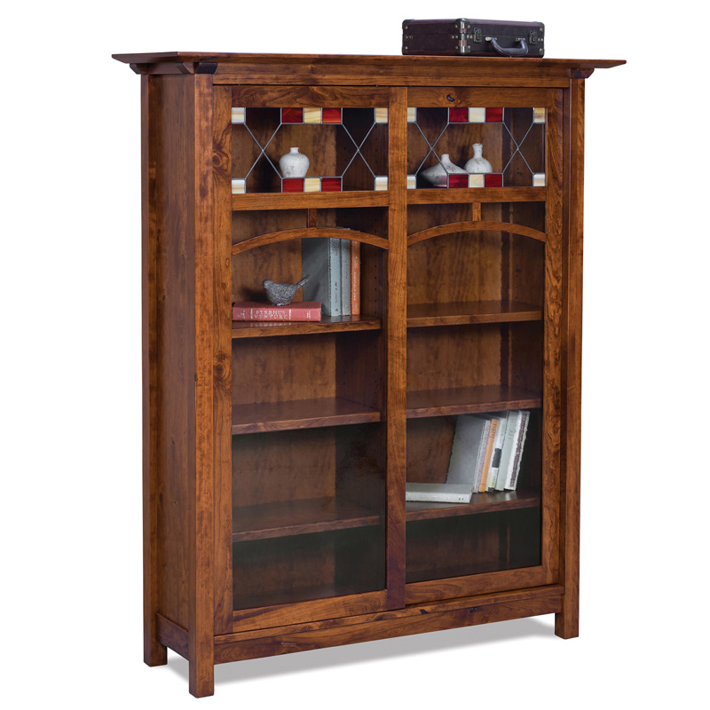 Artesa 8 Shelf 2 Door Bookcase