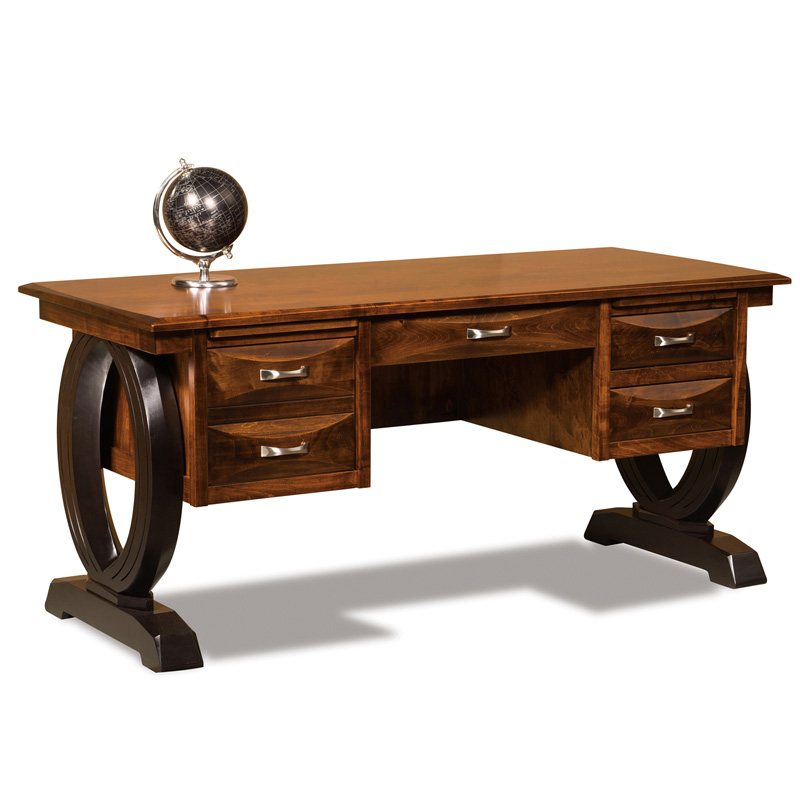 "Amish Saratoga Desk 68""W 