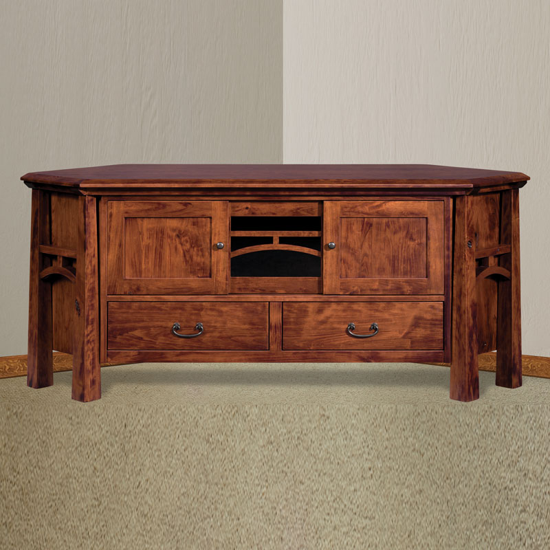 Artesa Corner Tv Stand With Drawers Shipshewana Furniture Co