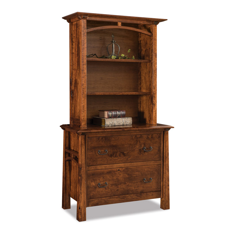 Artesa Lateral File Cabinet w-Bookcase