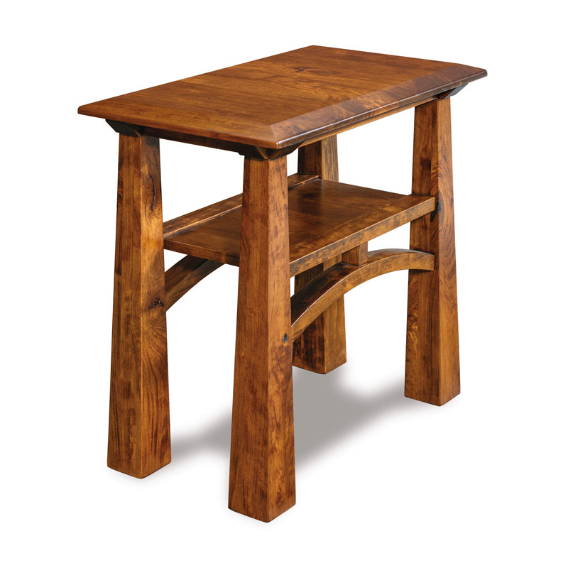 Artesa Open Chair Side End Table