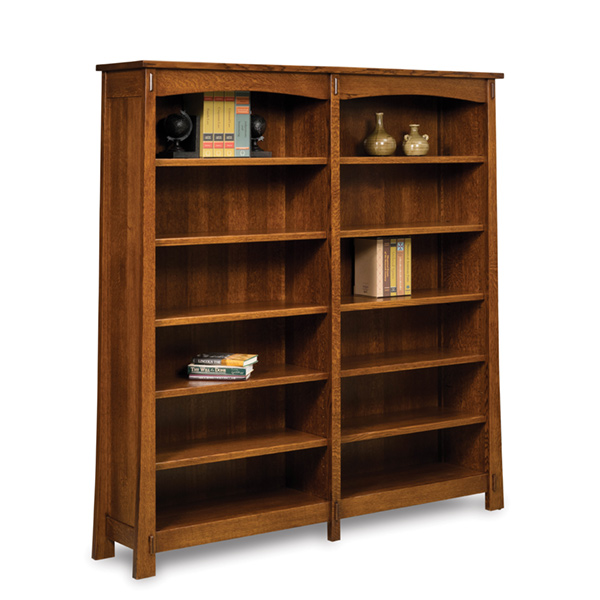 Modesto Double Bookcase