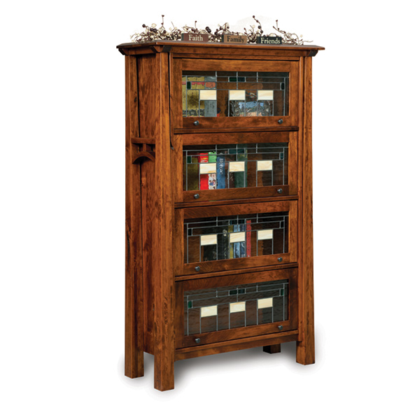 more information, Amish Artesa Barrister Bookcase | Amish Furniture |  Shipshewana Furniture Co. - Amish Bookcases, Amish Furniture Shipshewana Furniture Co.