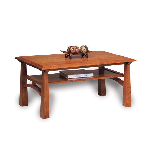 Amish Artesa Coffee Table | Amish Furniture | Shipshewana Furniture Co.