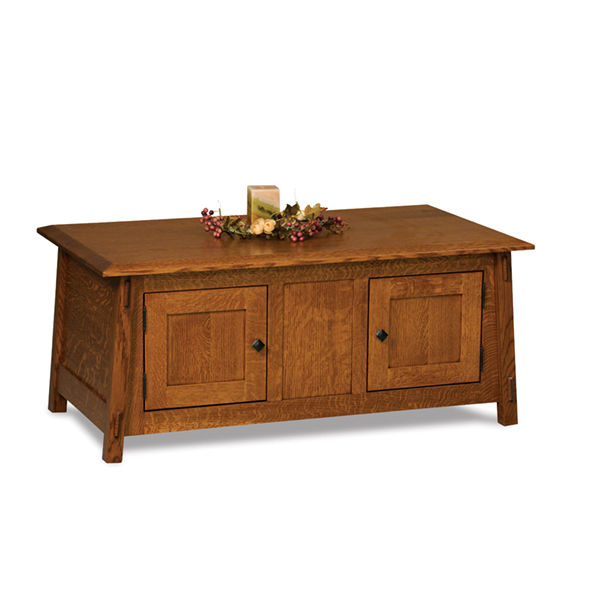 Amish Colbran Enclosed Coffee Table | Amish Furniture | Shipshewana Furniture Co.