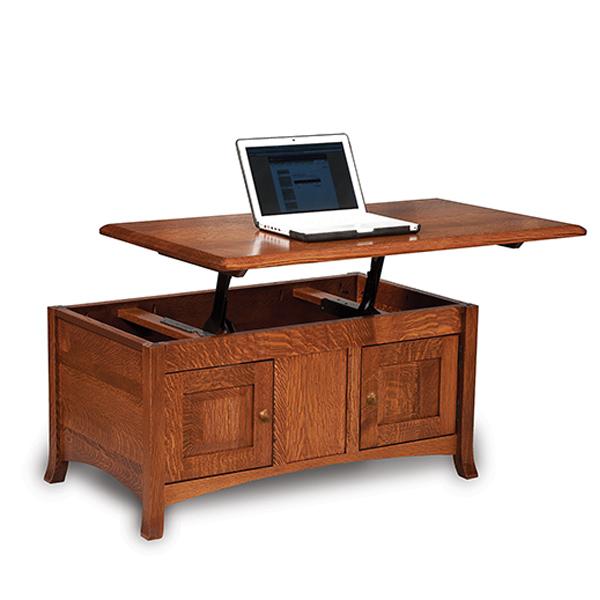 More Information Amish Carlisle Lift Top Coffee Table Amish Furniture Shipshewana Furniture Co