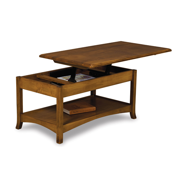 Carlisle Open Lift-Top Coffee Table