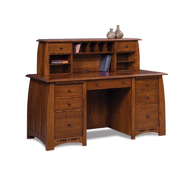 Boulder Creek Desk W Topper 65 W Shipshewana Furniture Co