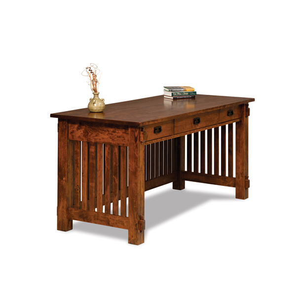 "Amish Craftsman Desk 65""W 