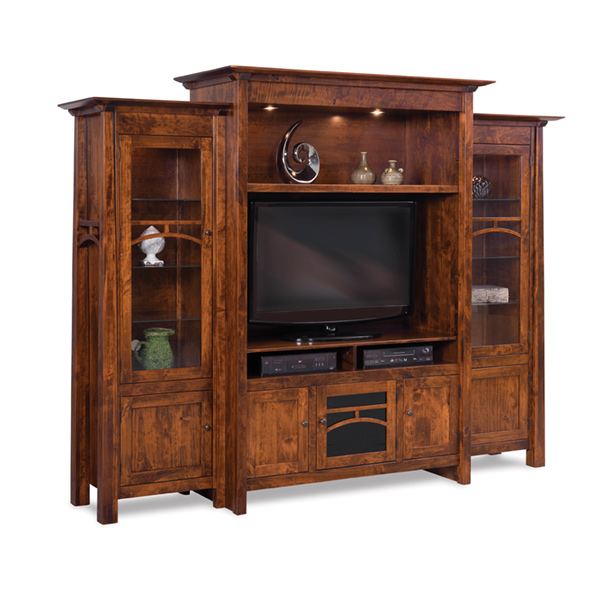 Amish Artesa 3pc Wall Unit | Amish Furniture | Shipshewana Furniture Co.