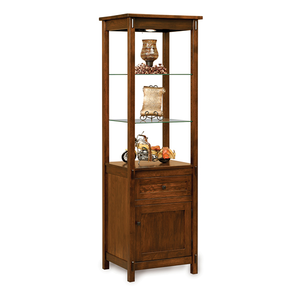 Amish Centennial Free Standing Side Tower | Amish Furniture | Shipshewana Furniture Co.