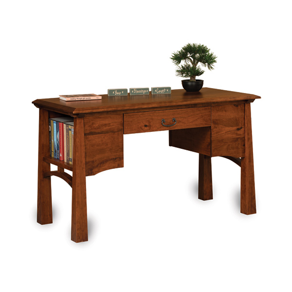 Amish Artesa Library Table | Amish Furniture | Shipshewana Furniture Co.