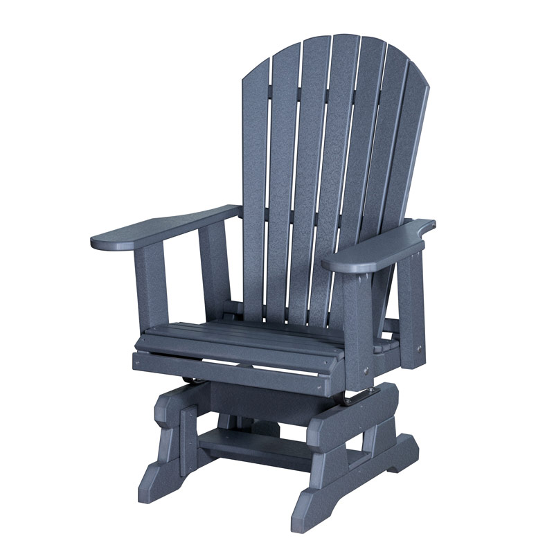 Adirondack Chair - Metal Springs - Amish Outdoor Polyvinyl Furniture, Amish Outdoor Polyvinyls, Amish