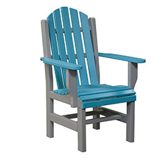 Adirondack Dining Chair with Arms