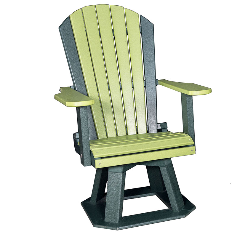 "Adirondack Swivel Chair 18""H"