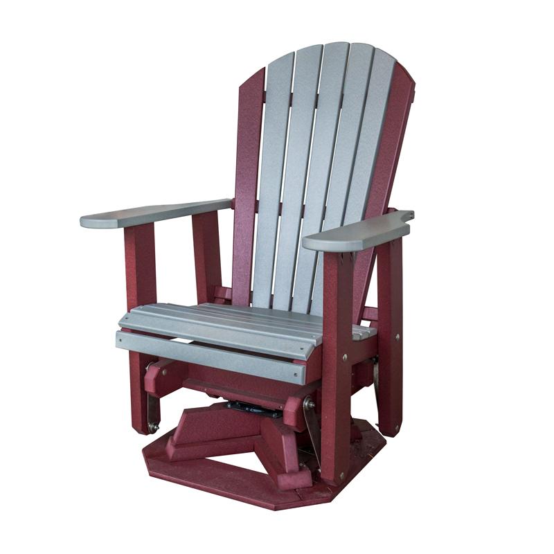 Fine Adirondack Swivel Glider Unemploymentrelief Wooden Chair Designs For Living Room Unemploymentrelieforg