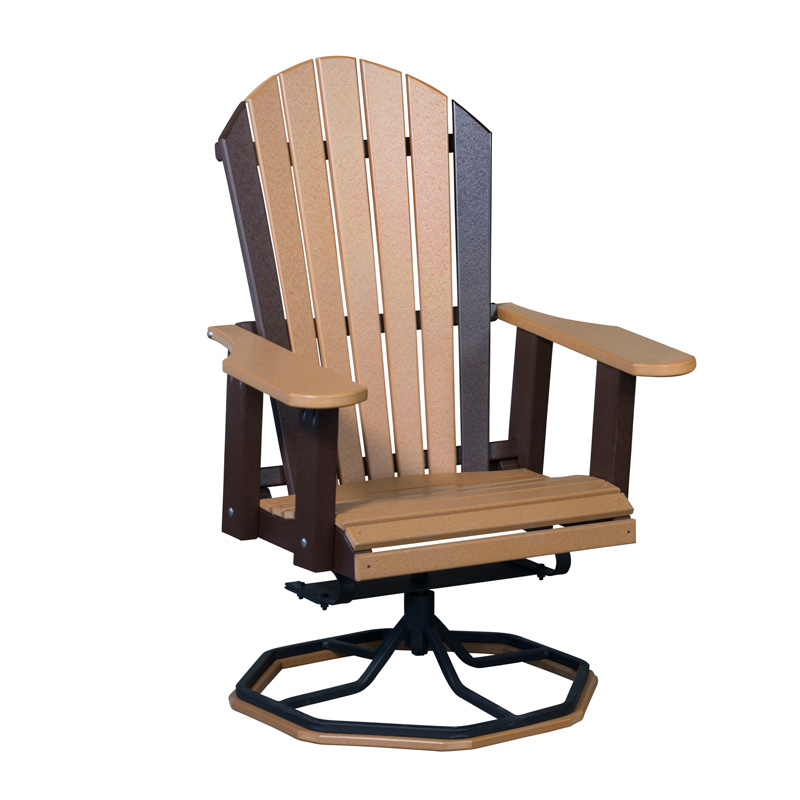 Adirondack Chair w-Steel Swivel Base