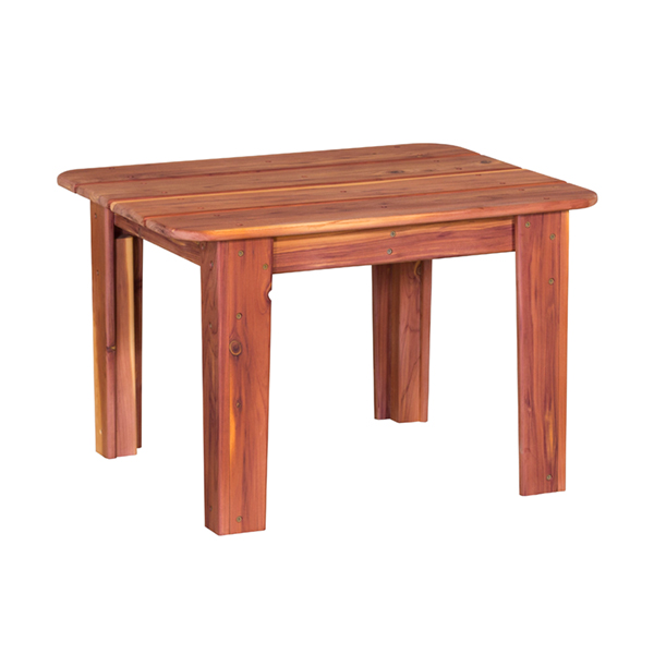 Amish Occasional Table 4-Leg - Cedar | Amish Furniture | Shipshewana Furniture Co.