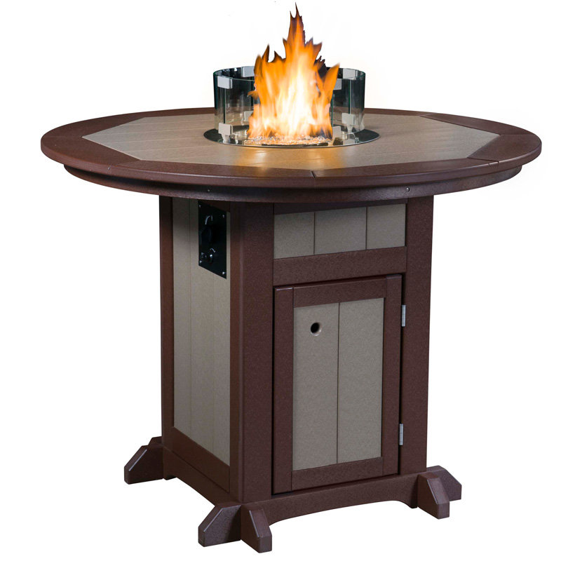 Fire Pit Table Round Counter Height