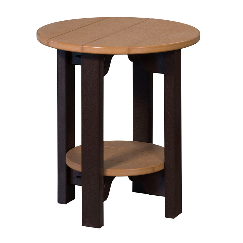 "End Table 21"" Round"