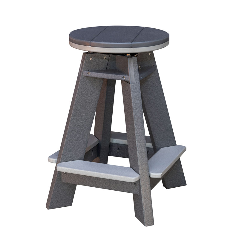 "Swivel Bar Stool 24""H"