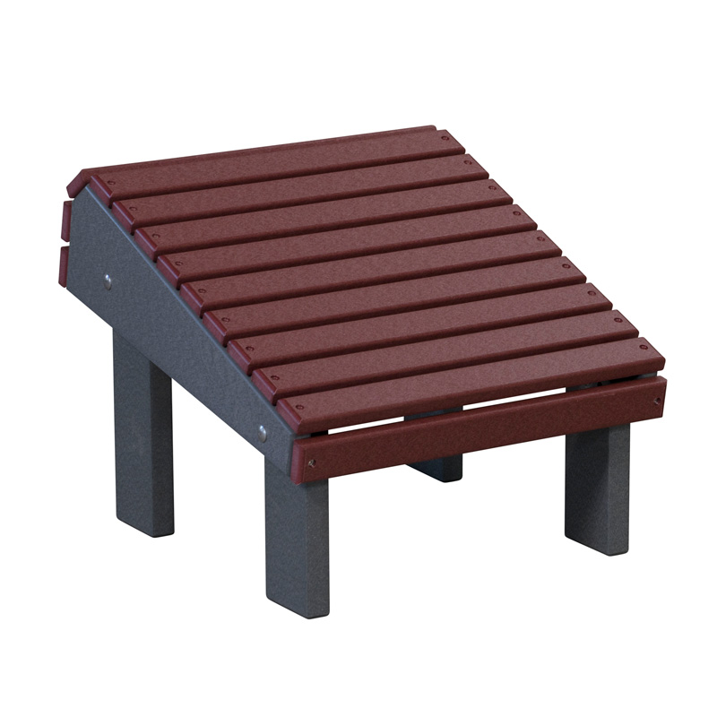 Stationary Footstool - Slanted