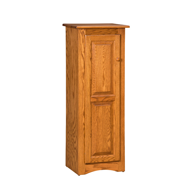 Amish Jelly Cabinet 1 Door | Amish Furniture | Shipshewana Furniture Co.