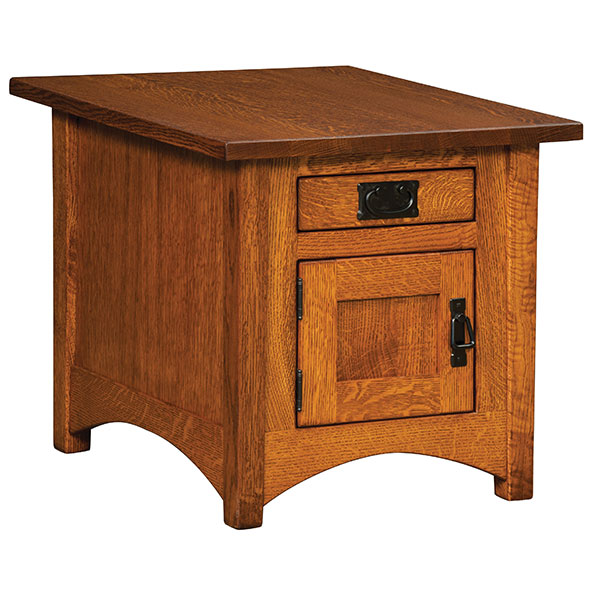Amish Ashton Cabinet End Table | Amish Furniture | Shipshewana Furniture Co.