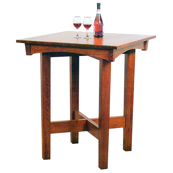 Amish Ashton Pub Table | Amish Furniture | Shipshewana Furniture Co.
