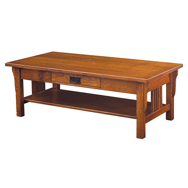 Amish Camden Mission Coffee Table | Amish Furniture | Shipshewana Furniture Co.