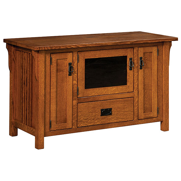 Amish Camden Mission TV Stand | Amish Furniture | Shipshewana Furniture Co.